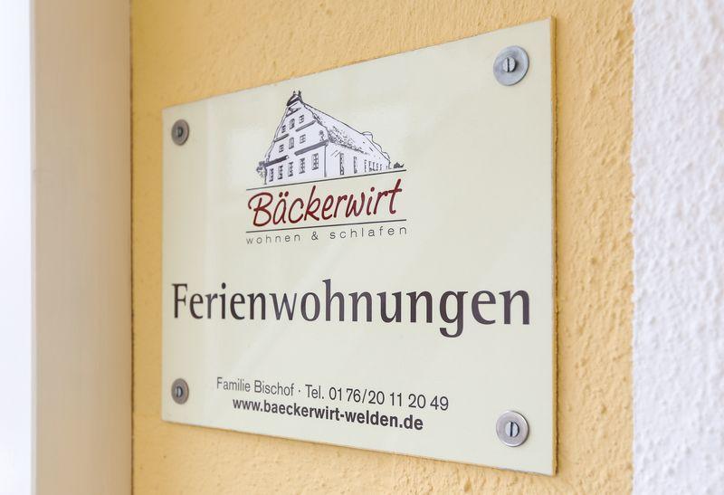 Bäckerwirt Welden - Ferienwohnung, Pension, Gästezimmer